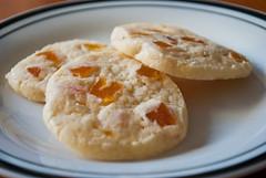 Apricot Cornmeal Cookies   by Pinot & Pineapple
