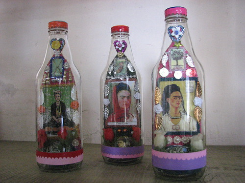 Frida in a bottle