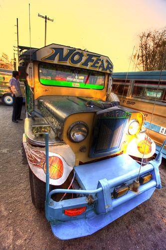 sunset angeles philippines hdr hashhouseharriers jeepney photomatix