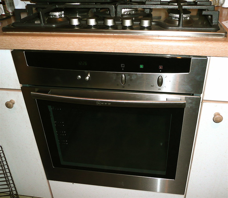 the new oven