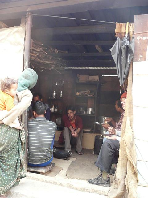 Gondhar tea stall