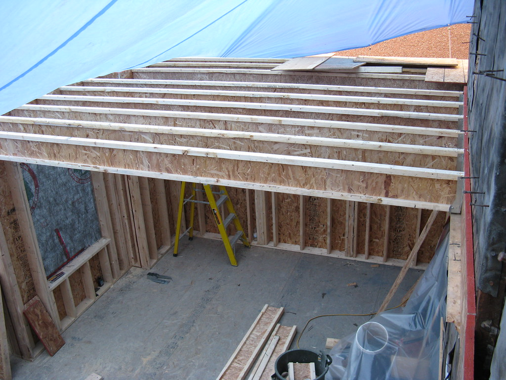 May 6th - 2nd floor joists