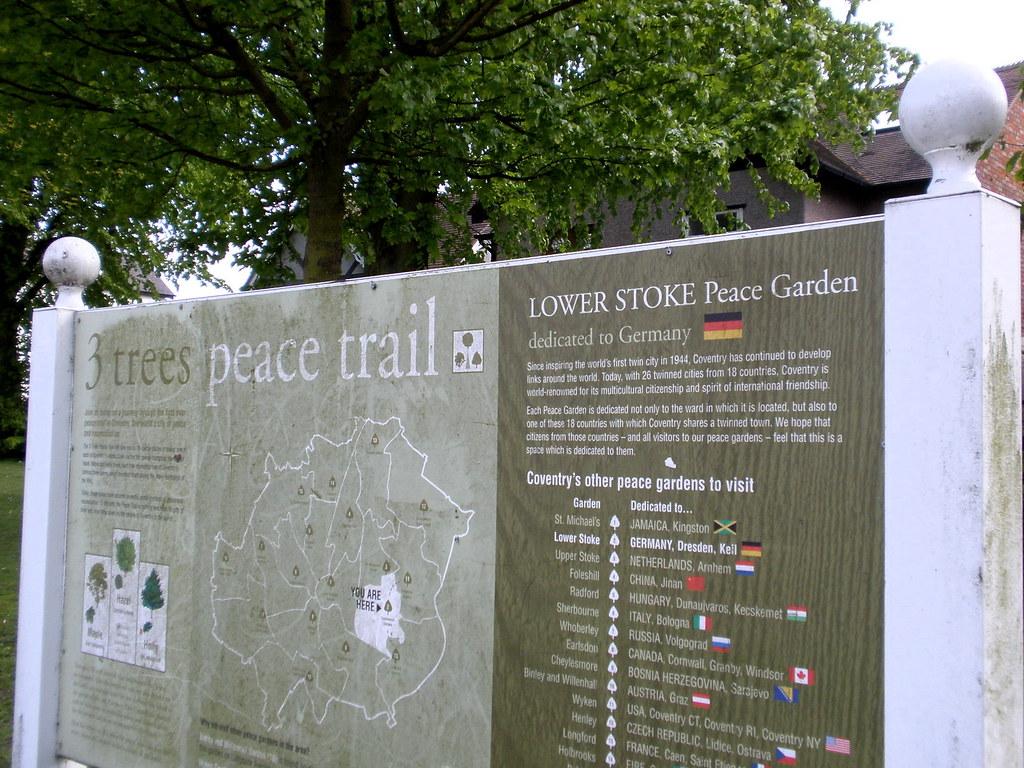 Lower Stoke Peace Garden Copsewood Terrace Coventry Uk Flickr