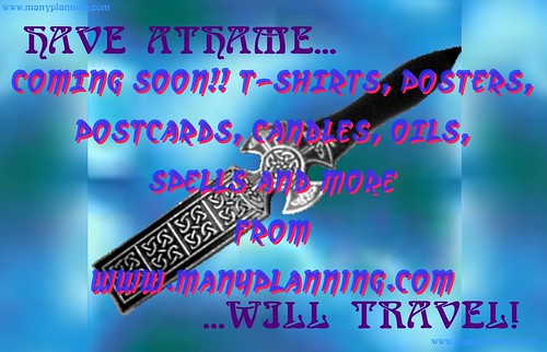 HAVE ATHAME WILL TRAVEL | by MANY PLANNING