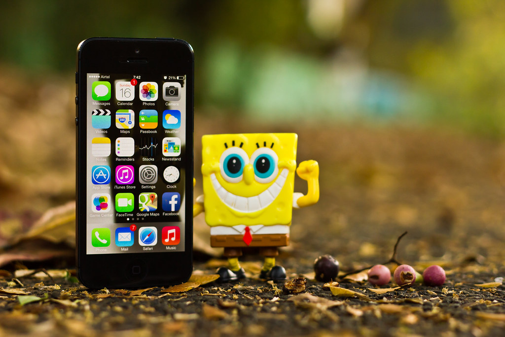 If you don't have an iPhone, well, SpongeBob have an iPho… | Flickr