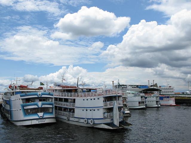 Manaus harbour