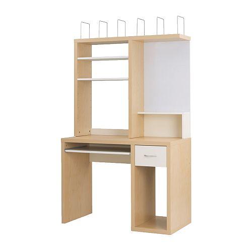 Ikea Mikael Desk 75 Sold Birch White S Rosen Flickr
