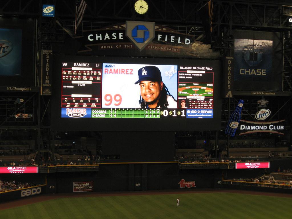 Arizona Diamondbacks 9, Los Angeles Dodgers 4, Chase Field… | Flickr