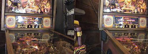 3D, Grand Champion Player 1 - W I Z on Indiana Jones™ Pinball Adventure at Indiana Jones™ Adventure Outpost, Adventureland, Disneyland®, Anaheim, California, 2009.05.01 15:43