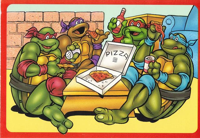 Teen-age Mutant Ninja Turtles Postcard
