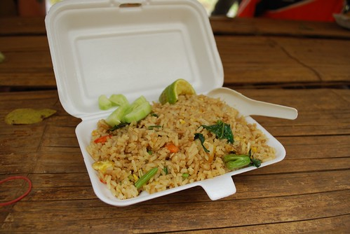 Khao Phad Thai fried rice - Lunch stop before the trek | by avlxyz
