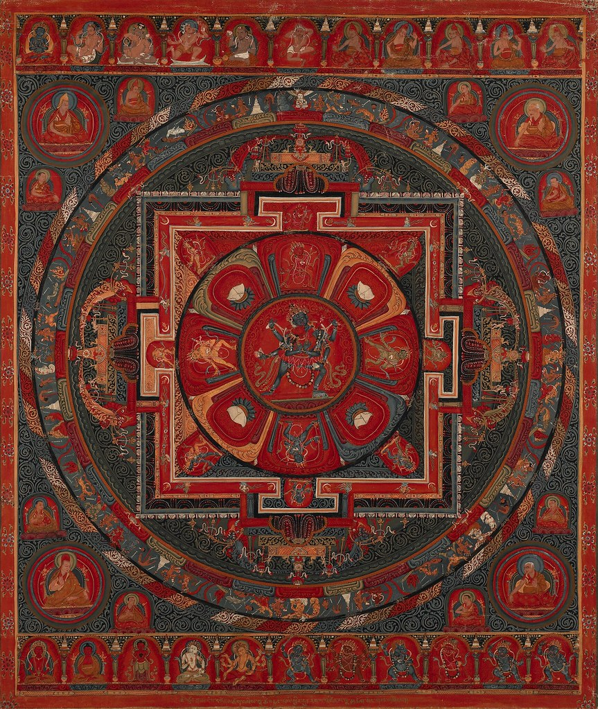 Chakrasamvara with Vajrayogini Mandala | Chakrasamvara with