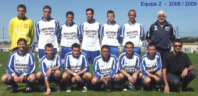 Roscoff - Paotred Rosko - Equipe 2 - 2008 / 2009