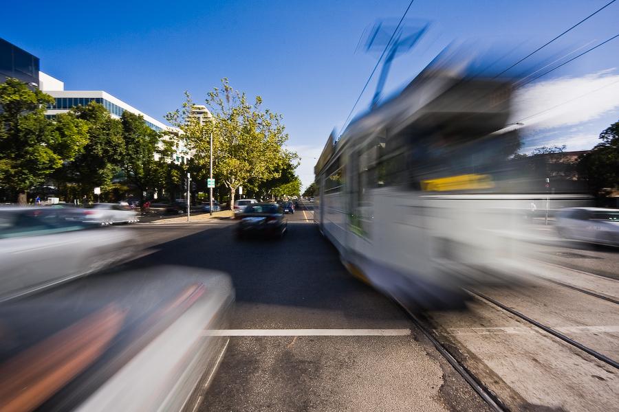 Melbourne's tram by mouzhik