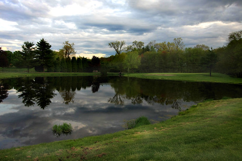 reflections golf dusk massachusetts agawam oakridgegolfcourse