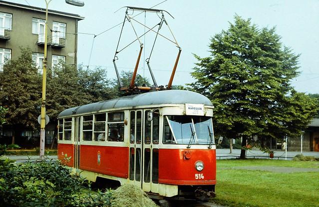 Tramvaj TATRA T1 Ostrava Vitkovice