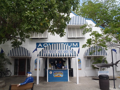Front of aquarium | by keywest aquarium