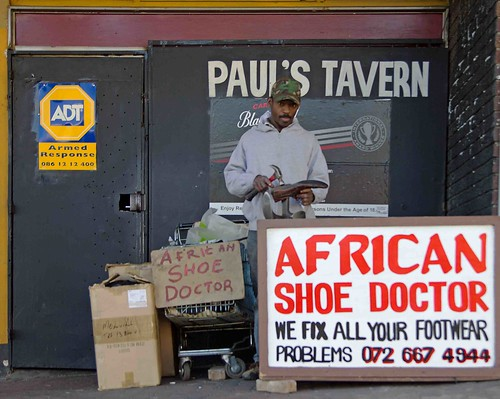 The African Shoe Doctor | by Mr Baggins