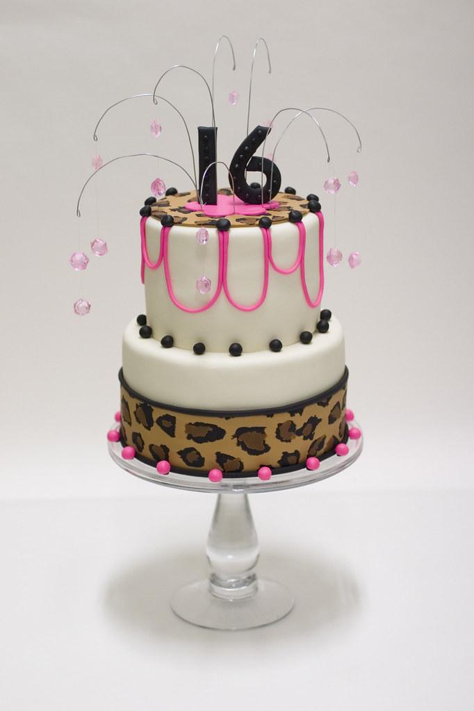 Amazing Sweet 16 Jewel Cake For More Cakes Visit Studiocake C Funny Birthday Cards Online Unhofree Goldxyz
