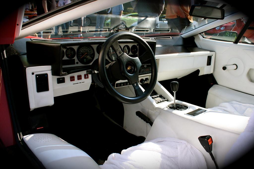 Lamborghini Countach Interior Www Apexrally Com 2009 05 Ex Flickr