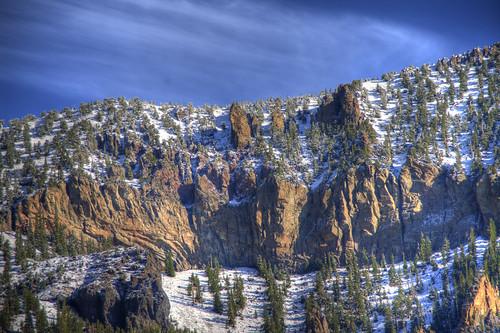 arizona mountain snow hiking trail flagstaff wilderness peaks hdr pentaxk20d