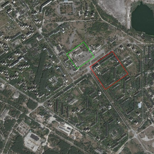Pripyat satellite view | Google Maps image, centered over th ... on journey planner, yahoo! maps, web mapping, maps google, google map maker, maps get directions, route planning software, aerial view, google sky, dubai street view, nokia maps, maps showing property lines, maps latitude, bing maps platform, google earth, manhattan view, google voice, maps from mexico city, maps that show property lines, maps weather, earth view, maps street, google mars, street level driving view, google search, see your house street view, satellite map images with missing or unclear data, google moon, google latitude, bing maps, maps earth, google street view, maps and directions,