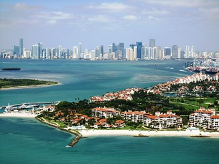 Miami & Fisher Island from 500ft | by Mohmed Althani
