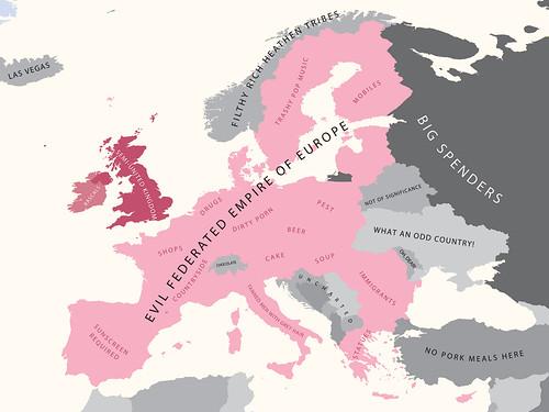 Europe According to Britain | by alphadesigner