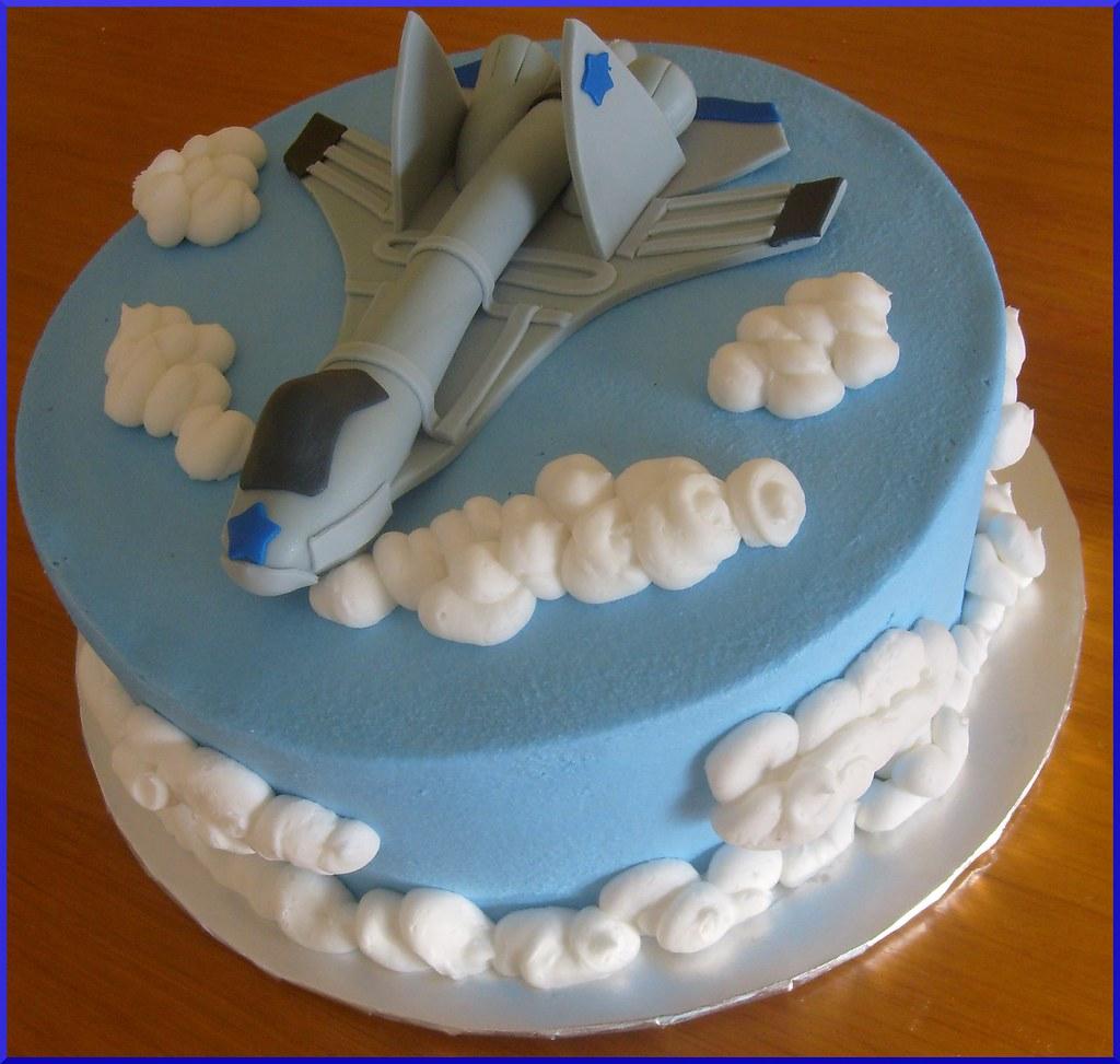 Super F16 Plane Birthday Cake Dpasteles Cake Shop Flickr Personalised Birthday Cards Epsylily Jamesorg
