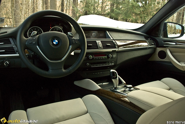 Bmw X6 Interior A Photo On Flickriver