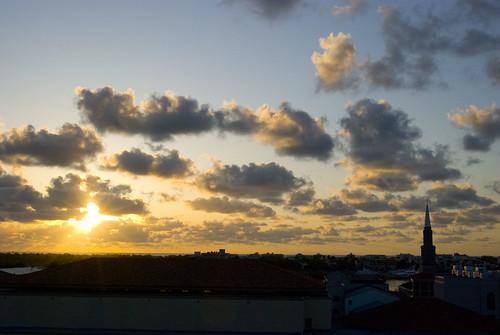 clouds sunrise westpalmbeach pba palmbeachatlanticuniversity pbau michaelcarey mtcarey