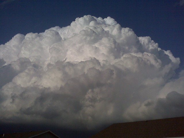 061509 - Severe Warned Thunderstorm Near Shelton Nebraska