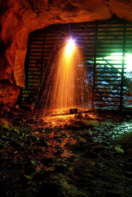 Big Bone Cave gate replacement, Big Bone Cave SNA, Van Buren Co, TN