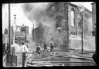 Blaze in Newcastle