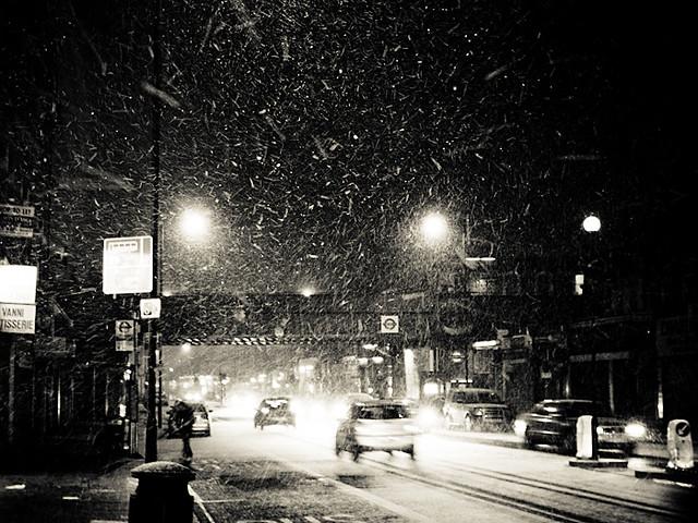 London When it Snows - Shepherds Bush