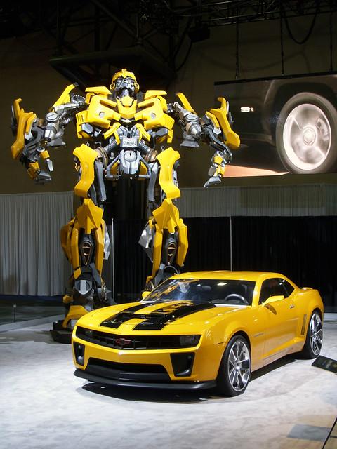 Bumblebee Camaro Transformer