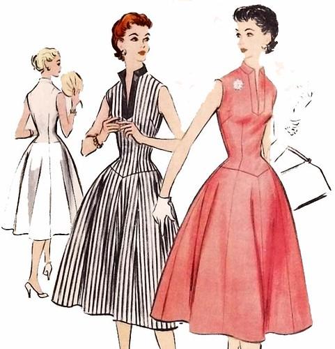 685344da3f1 ... Vintage 1950 s rockabilly dress sewing pattern
