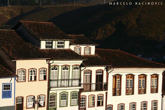 Fachadas do Casario em Ouro Preto