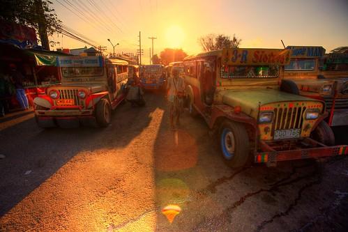 sunset angeles philippines hashhouseharriers jeepney twop