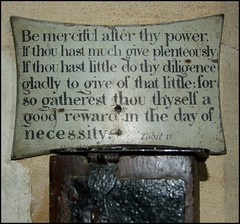 be merciful after thy power