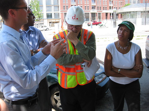 Muriel Bowser Checks on Petworth Medians | by Wayan Vota