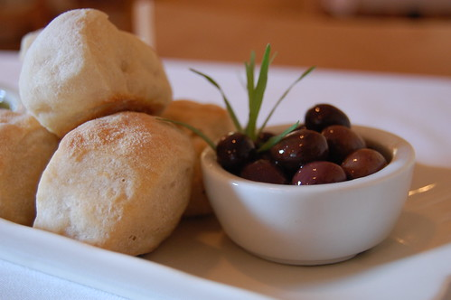 bread, olives