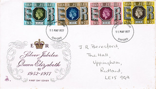 11-May-1977 UK First Day Cover