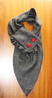 Button Me Up Scarf | by AmesHandmade