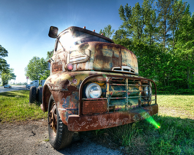 The Old Ford Still Shines