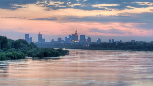 Vistula floods Warsaw HDR | by Rich pick