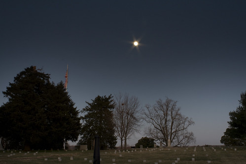 sunset virginia cemetary civilwar battlefield fredericksburg