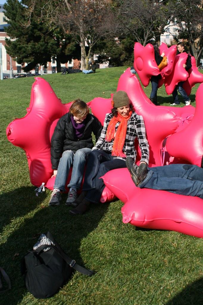 Bushwaffle Couch at Yerba Buena Gardens