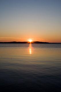 Sunset at Näsijärvi   by Syvanen
