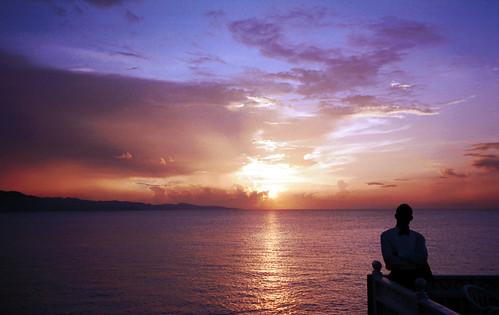 montigo bay jamaica sunset montego saint james oct 1998